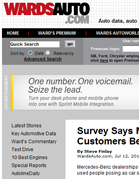 Ward's Auto Survey Says Mercedes Dealerships Treat Customers Best