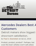 The Detroit Bureau Mercedes Dealers Best At Treating Potential Customers