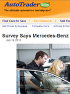 Autotrader.com Survey Says Mercedes-Benz Has Winning Sales Ways
