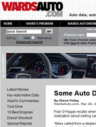 Wards Auto Some Auto Dealers Master Internet, Some Don't