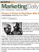 MediaPost News Victory a Victor in Pied Piper Bike Brand Study