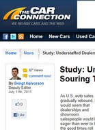 The Car Connection Study: Understaffed Dealerships Souring The Sales Experience?