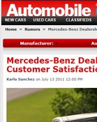 Automobile Magazine Mercedes-Benz Dealerships Rank High in Customer Satisfaction