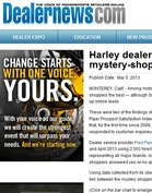 Dealernews Harley dealers top Pied Piper mystery-shopper study