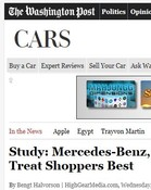 Washington Post Study: Mercedes-Benz, Infiniti Dealerships Treat Shoppers Best