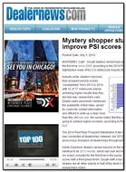 Dealernews Mystery shopper study: Dealers improve PSI scores over 2013