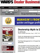 Ward's Dealer Business Dealership Myth Is Debunked