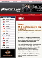 Motorcycle.com H-D Salespeople Top Consumer Survey