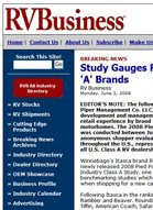 RV Business RV Study Gauges Retail Experience for 'A' Brands