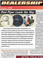 Dealership P.R.O. Pied Piper Leads the Way