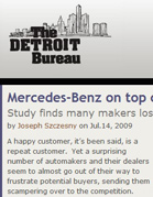 TheDetroitBureau.com Mercedes-Benz on top of shopping survey: Study finds many makers losing frustrated customers.